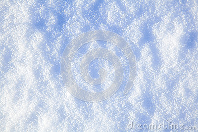 Real Snow Background