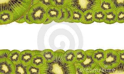 Background of ripe kiwi