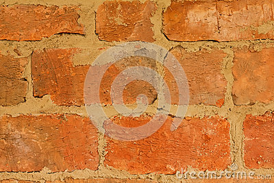 Background of  rough brick texture