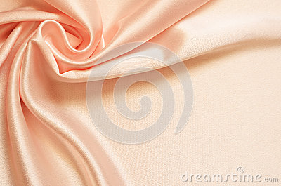 Background with satin drapery