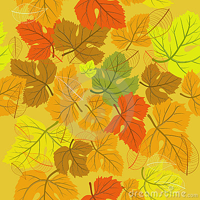 Background seamless autumn