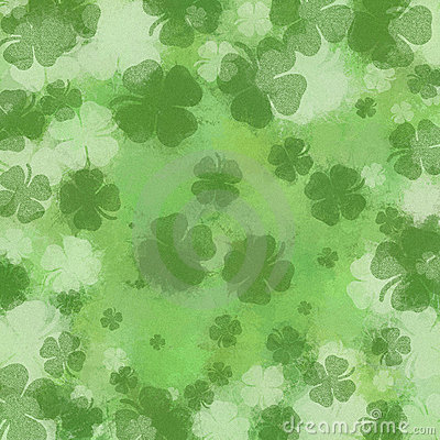 March Background Shamrock background design template royalty free ...