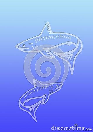 Background sharks