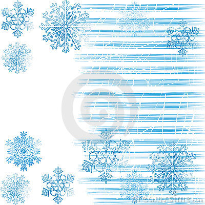 Background with snowflakes 2