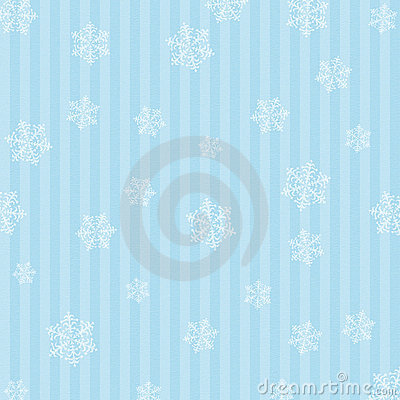 Background Snowflakes And Stripes
