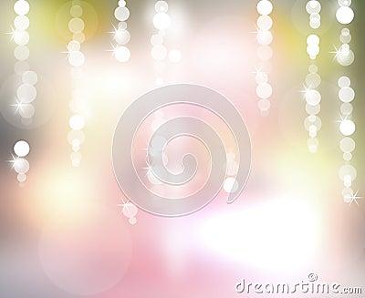 Background soap bubbles