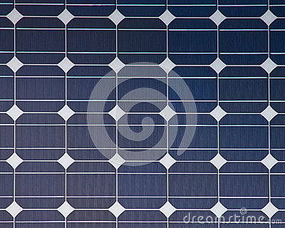 Background of a solar panel