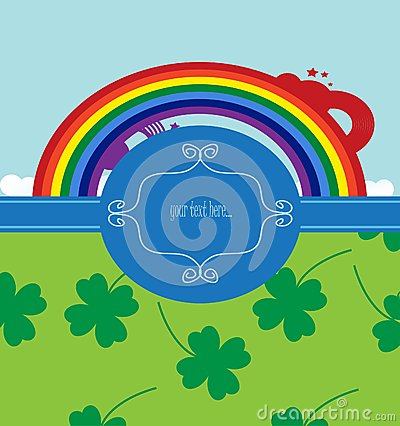 Background for st. patrick day