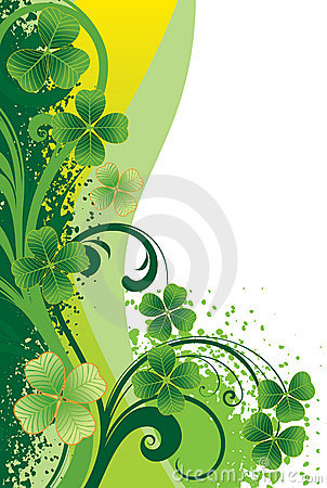 Background for St. Patrick s Day