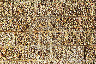Background of Stone Blocks Wall