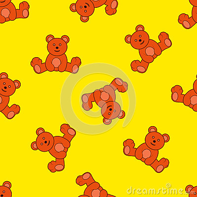 Background with teddy bear