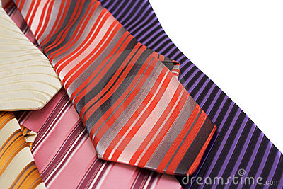 Background from ties