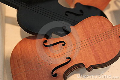 Background violins
