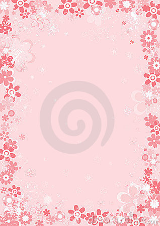 Free Background Whith Flower,vector Stock Photos - 1745083