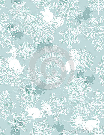 Free Background With Christmas Elements, Vector Royalty Free Stock Photography - 26730117