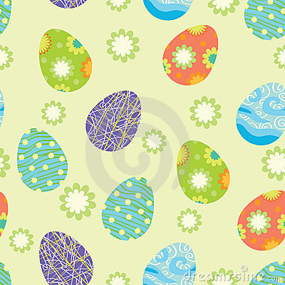 Free Background With Easter Eggs Stock Photo - 13680550