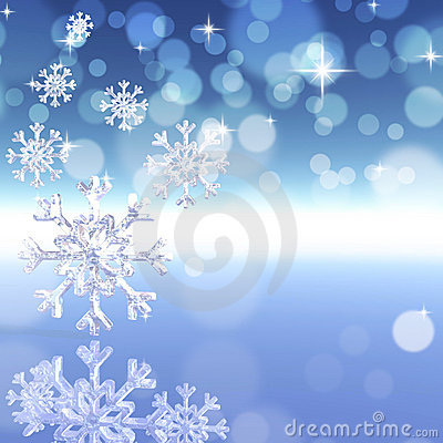 Free Background With Snowflakes Stock Photo - 16715700