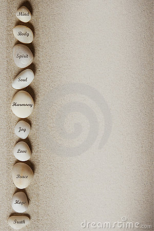 Free Background With Stones Royalty Free Stock Photo - 4001475