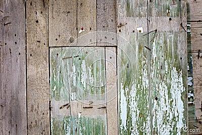 Background wood enclosure