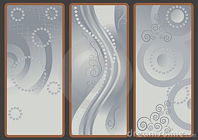 Backgrounds  with gray shade.