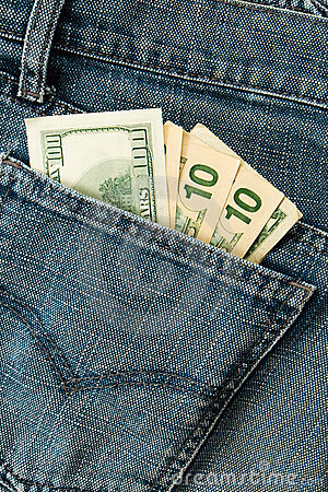 Free Backgrounds Group Dollars Jeans Royalty Free Stock Image - 10439226