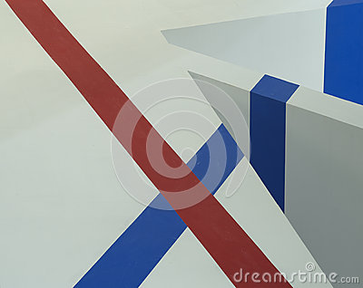 Backgrounds of Red and Blue Lines