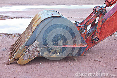 Backhoe Claw bucket