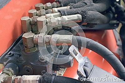 Backhoe Hydraulic Hoses