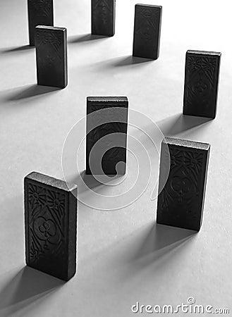 Backlit dominos
