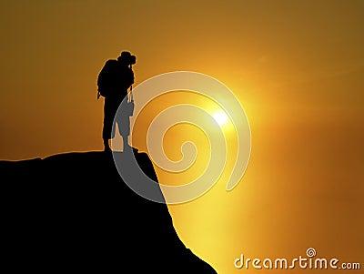 Backpacker Sunset 1