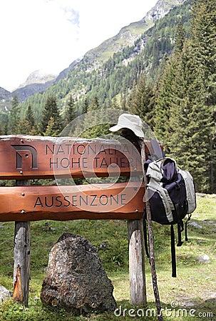 Backpacking through Austria