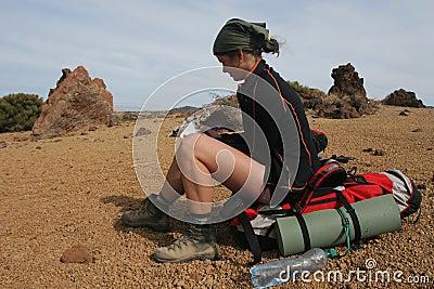 Backpacking in the desert