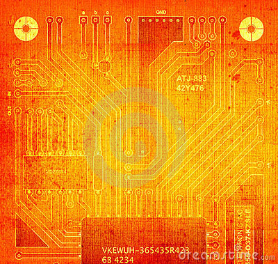 Backside circuit board