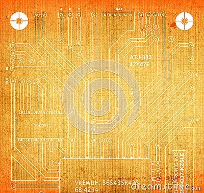 Backside circuit board