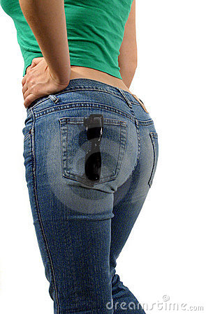 Free Backside In Jeans Stock Photo - 205590