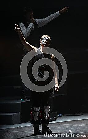 Backstreet Boys World Tour Beijing Concert Editorial Stock Image