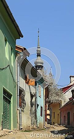 Backstreet in Sighisoara