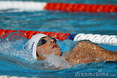Backstroke: Alpe Adria Summer Games 2010 Editorial Photography