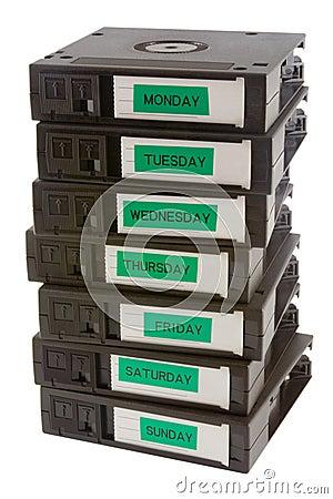 Free Backup Tapes Stock Photo - 1129990