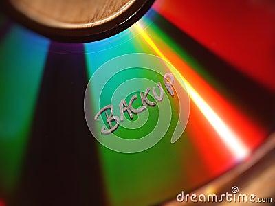 Backuptext auf CD