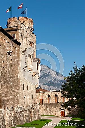 Backyard of Castello del Buonconsiglio
