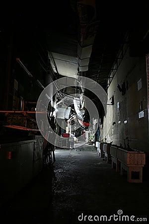 Free Backyard Of Bangkok At The Night Stock Photos - 1733203