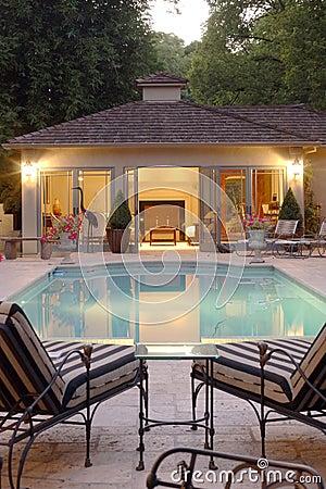 Backyard Pool House