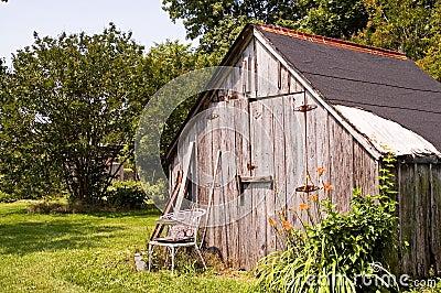 Backyard tool/storage shed