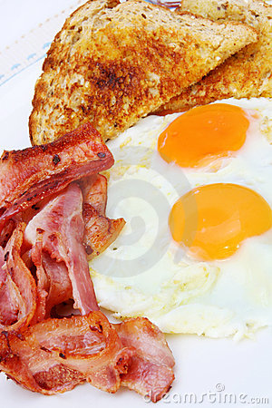 Free Bacon And Eggs Stock Images - 2497614