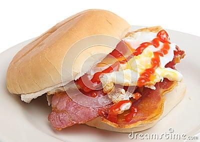 Bacon & Egg Breakfast Roll