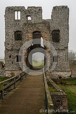 Free Baconsthorpe Castle, Norfolk, England Stock Image - 92180171