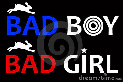 Bad boy and bad girl