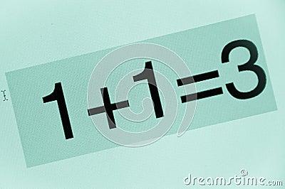 Bad calculation
