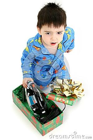 Free Bad Christmas Present Royalty Free Stock Photo - 389985